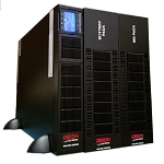 SCR3-6000RT online ups rated at 6kVA / 6kW