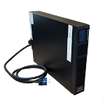 SCR3-6000RT online ups rated at 6kVA / 6kW  softwired
