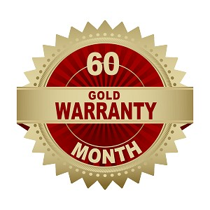 60 month Plus Gold warranty for SCR3-10000RT. Covers UPS and (1) battery module.